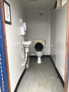 13 x 9 toilet unit