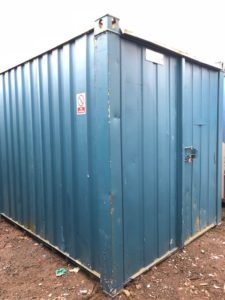 10 x 8 container blue