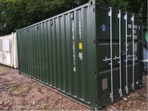 20 x 8 New' Steel Shipping Container
