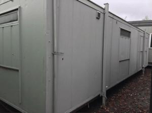 30 x 9 Canteen/Toilet unit
