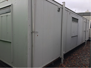 30 x 9 Canteen/Toilet unit