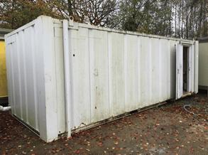 6 bay anti vandal toilet block