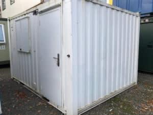 12ft x 10ft open plan anti vandal unit