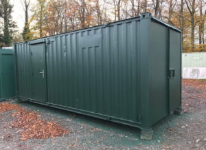 20ft x 8ft anti vandal canteen/store 50/50 unit