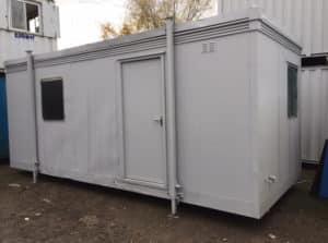 20 x 8 open plan office canteen unit