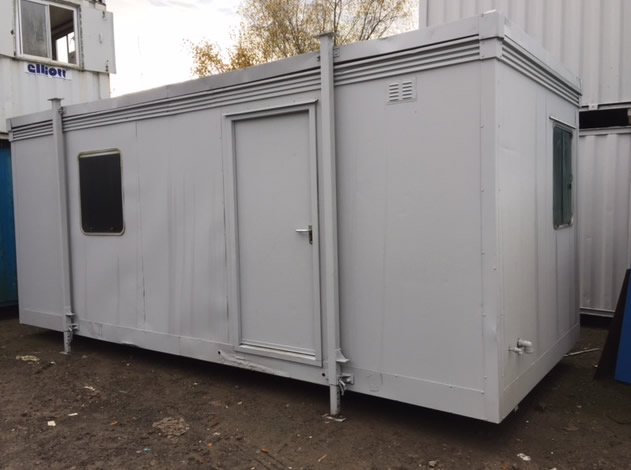 20 x 8 open plan office canteen unit