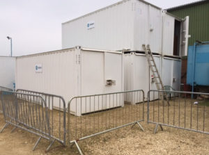 20 x steel storage container