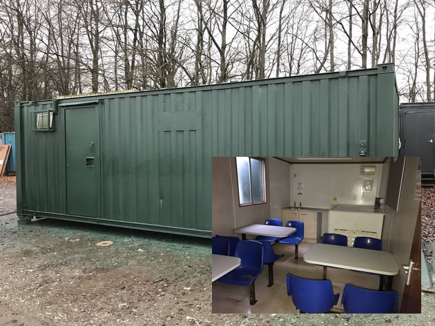 Used 24x9 welfare unit