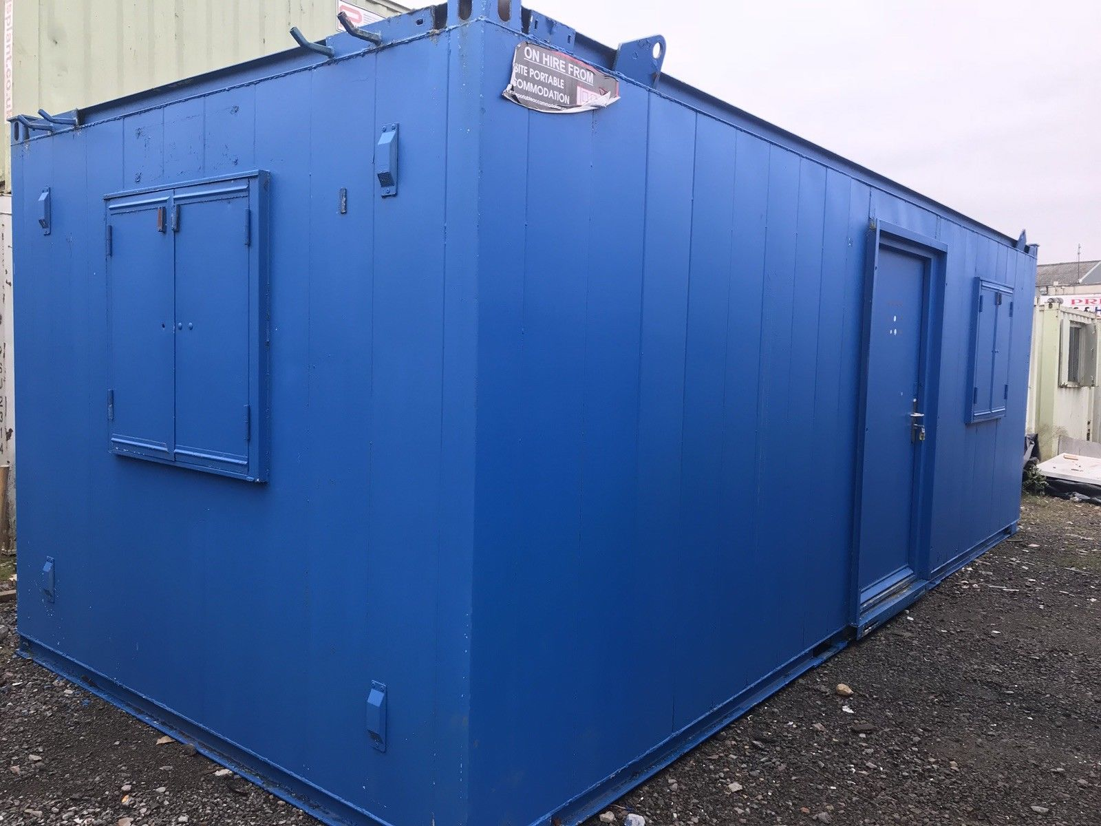 24ft x 10ft canteen:office