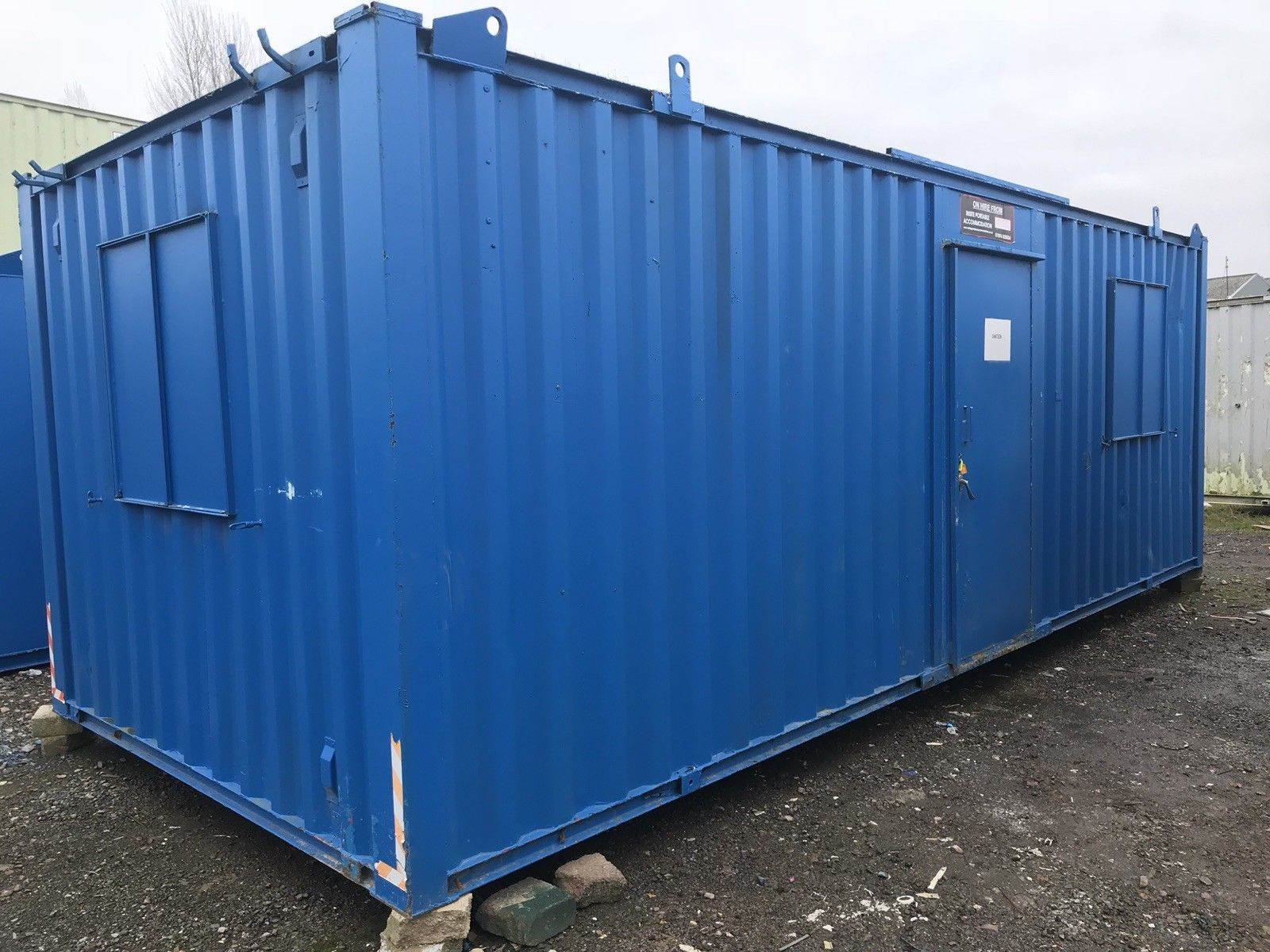24ft x 10ft offic:canteen